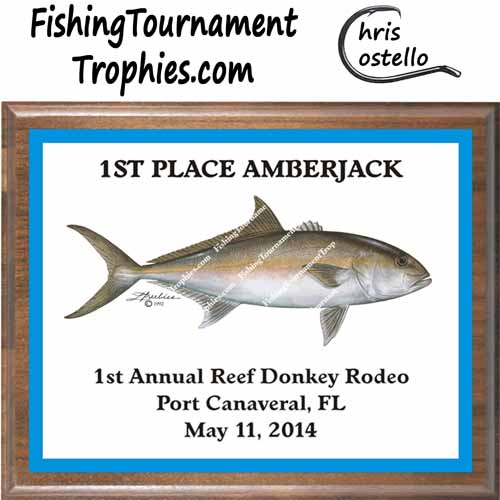 Amberjack Fishing Trophies
