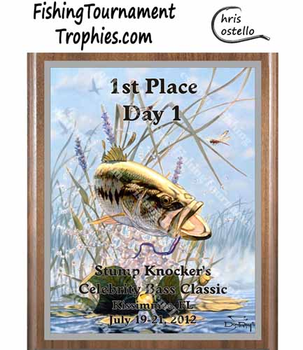 Bass Tournament Plaques