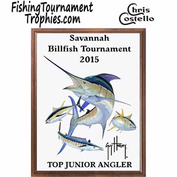 Blue Marlin Fishing Tournament Plaques 0004