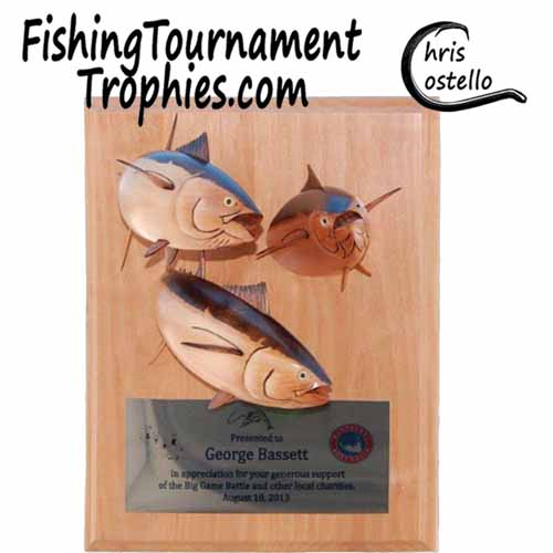 Bluefin Tuna Trophy Plaque