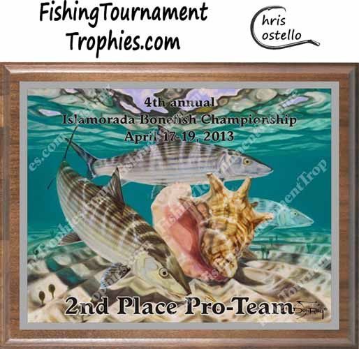 Bonefish Fishing Tournament Trophies, Bones & Conch #1