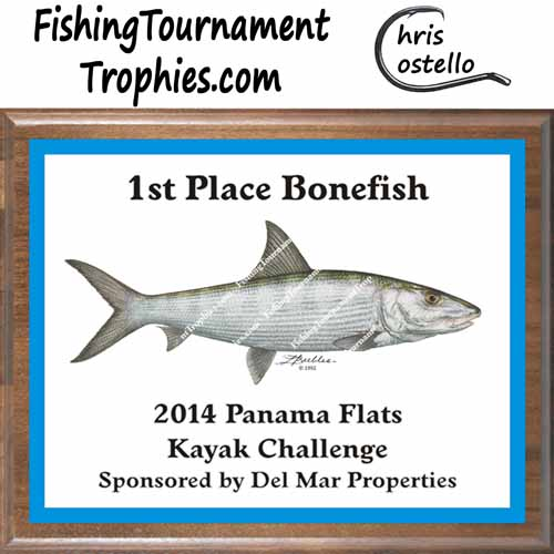 Bonefish Tournament Trophies, Bones & Conch