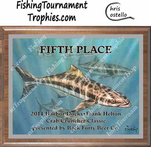 Cobia Tournament Trophies, Cobia 1