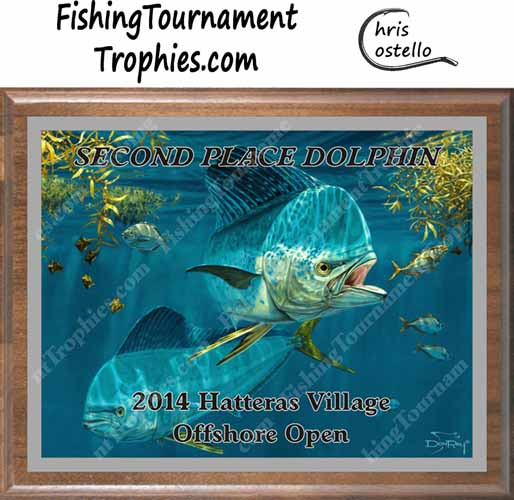 Dolphin Fishing Tournament Trophies, Working the Weeds