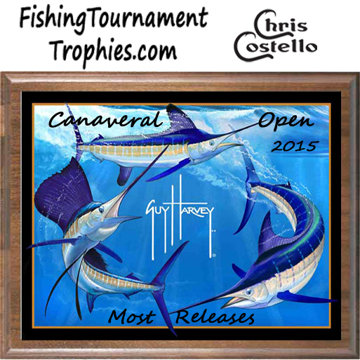 Billfish Grand Slam Fishing Tournament Plaque 001