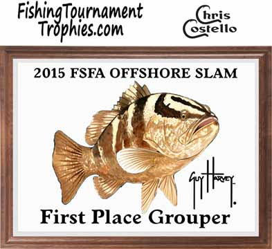 Grouper Fishing Tournament Plaques 0001
