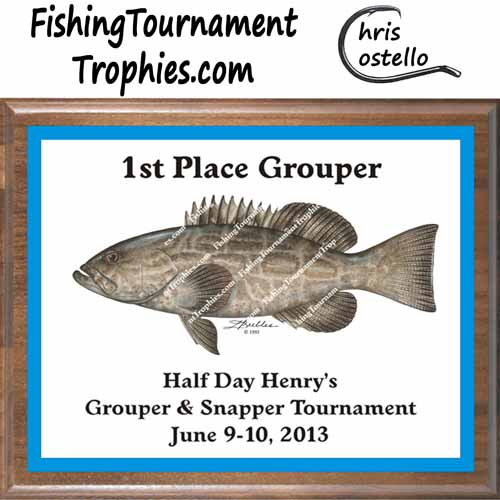 Grouper Trophies, DP