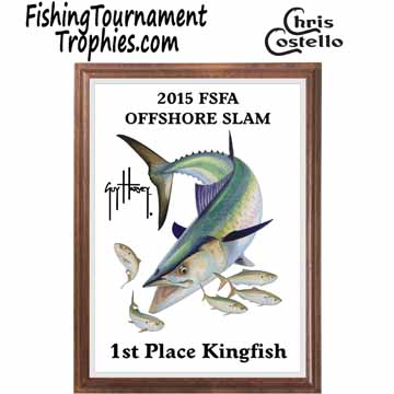 King Mackerel Fishing Tournament Plaque 0001