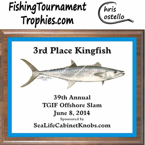 King Mackerel Trophies, DP