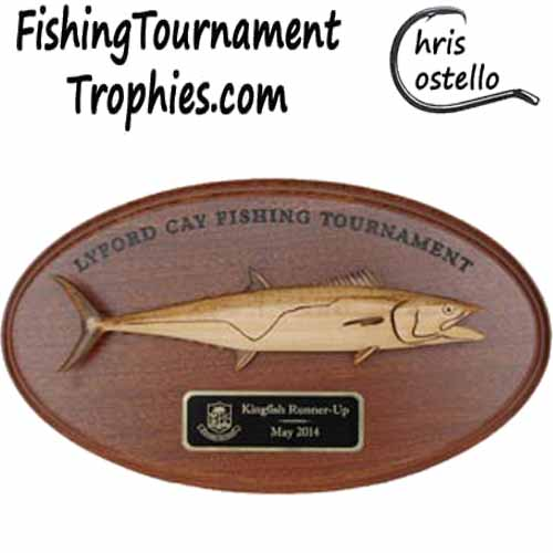 King Mackerel Trophy Plaque