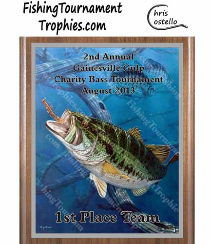 Largemouth Bass Tournament Awards, Field & Stream Cover #2