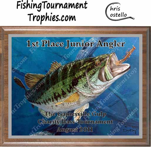 Largemouth Bass Tournament Trophies, Field & Stream Cover #1