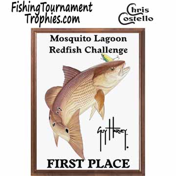 Redfish Fishing Tournament Plaque 0001