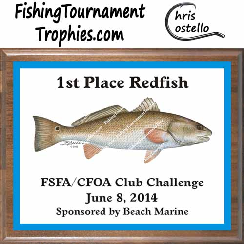 Redfish Trophies, DP