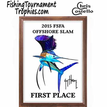 Sailfish Fishing Tournament Plaques 0002