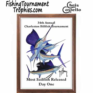 Sailfish Fishing Tournament Plaques 0003