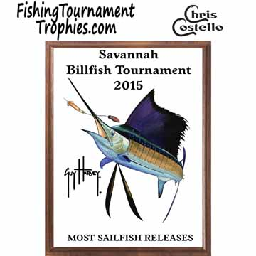 Sailfish Fishing Tournament Plaques 0004