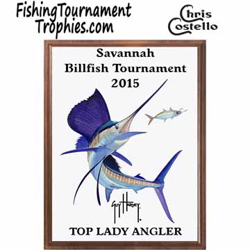 Sailfish Fishing Tournament Plaque 0006