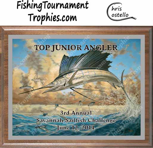 Sailfish Tournament Awards, Color Change