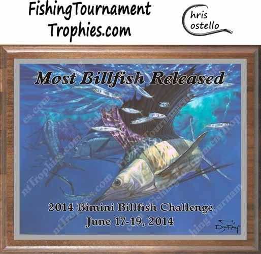 Sailfish Tournament Trophies, Hit and Miss