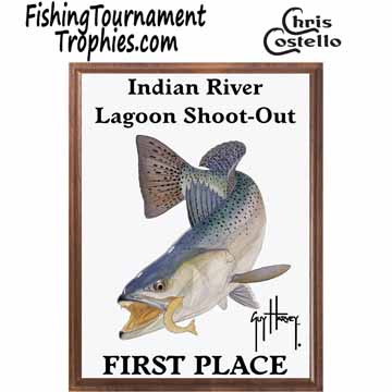Seatrout Fishing Tournament Plaque 0001