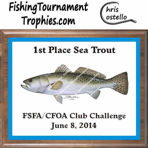 Seatrout Tournament Trophies