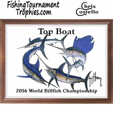Billfish Super Slam Fishing Tournament Plaque 0002