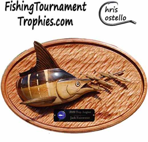 Striped Marlin & Mackerel Top Angler Trophy
