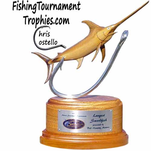 Swordfish Tournament Trophy, J Hook