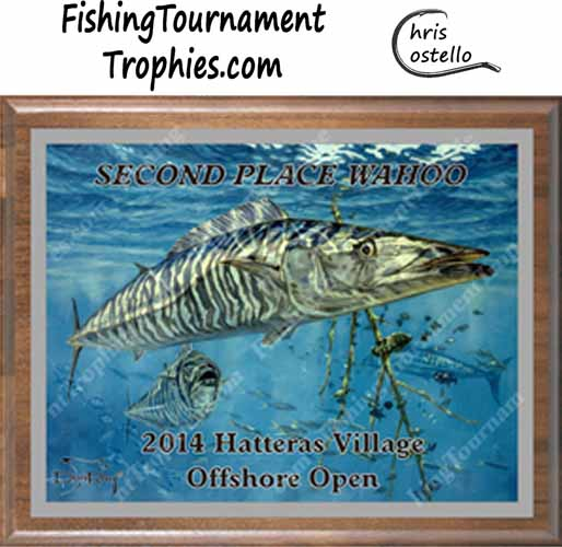 Wahoo Fishing Tournament Trophies, Suspended Animation