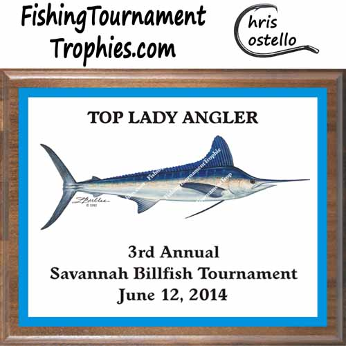 White Marlin Trophies