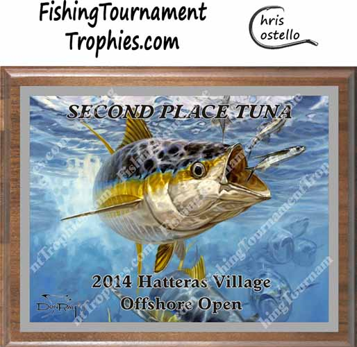 Yellowfin Tuna Tournament Trophies, Approaching Front 2