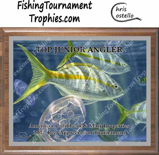 Yellowtail Snapper Tournament Trophies