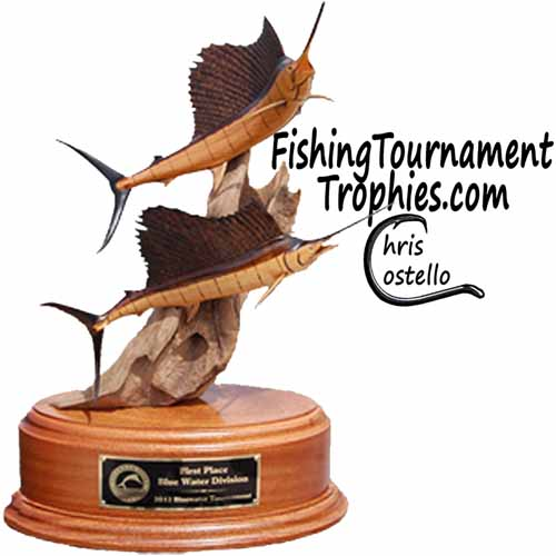 All Products : Fishing Tournament Trophies   Designed by